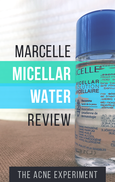 Marcelle Micellar Water Review :: The Acne Experiment / Crappy Candle