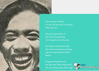 Puisi karya Chairil Anwar