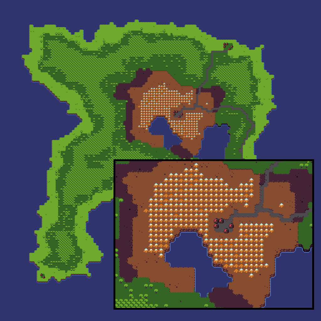 Random project lab procedurally generated island overworld map ive had a mild interest in procedurally generated worlds for video games for a while now i recently found this article by amit patel from red blob games gumiabroncs Choice Image