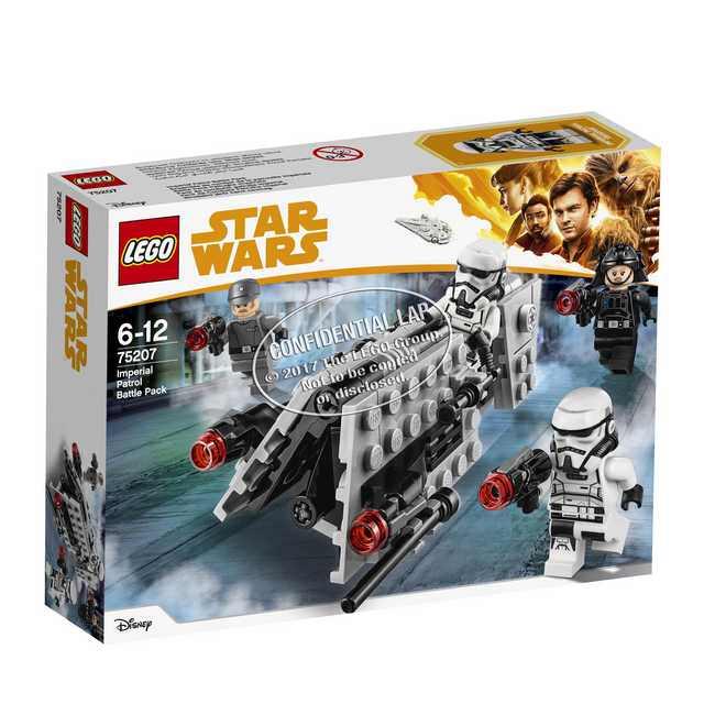 Lego Star Wars Han Solo - Imperial Patrol Battle Pack (75207)