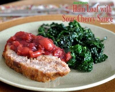 Ham Loaf with Sour-Cherry Sauce