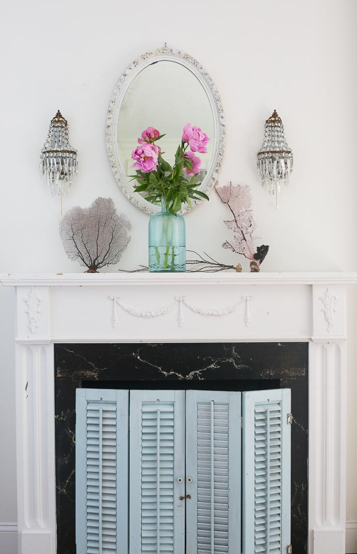 beach cottage mantel coastal mantel