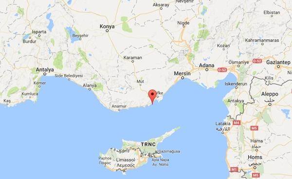 Dana Adasının Nerededir Haritalarda