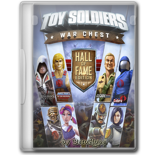 Toy Soldiers War Chest Full Español