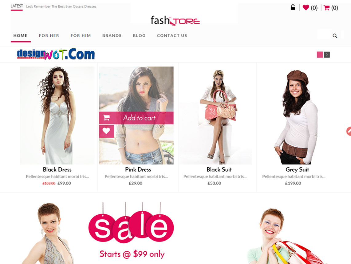FASHSTORE Responsive WordPress Theme