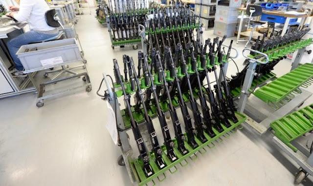 Γερμανική βιομηχανία όπλων καταδικάστηκε για παράνομες πωλήσεις τουφεκιών στο Μεξικό