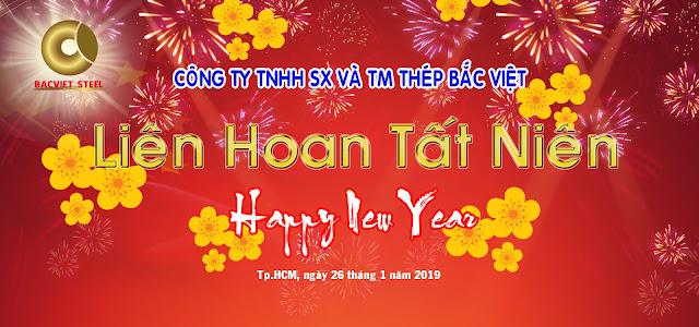 Liên hoan tất niên Công ty Thép Bắc Việt 2018