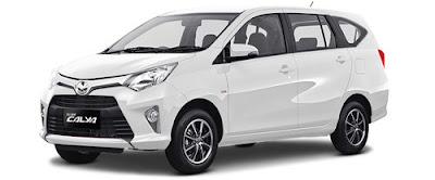 Rental Mobil Toyota Calya Jakarta