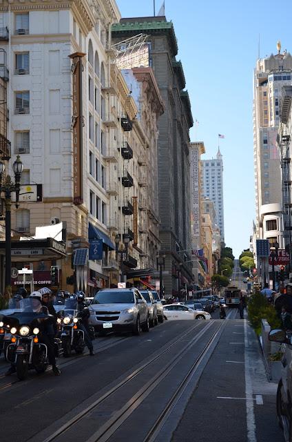 Ladeiras das ruas de San Francisco.
