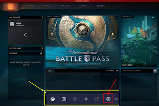 Setting Mode Game Dota 2