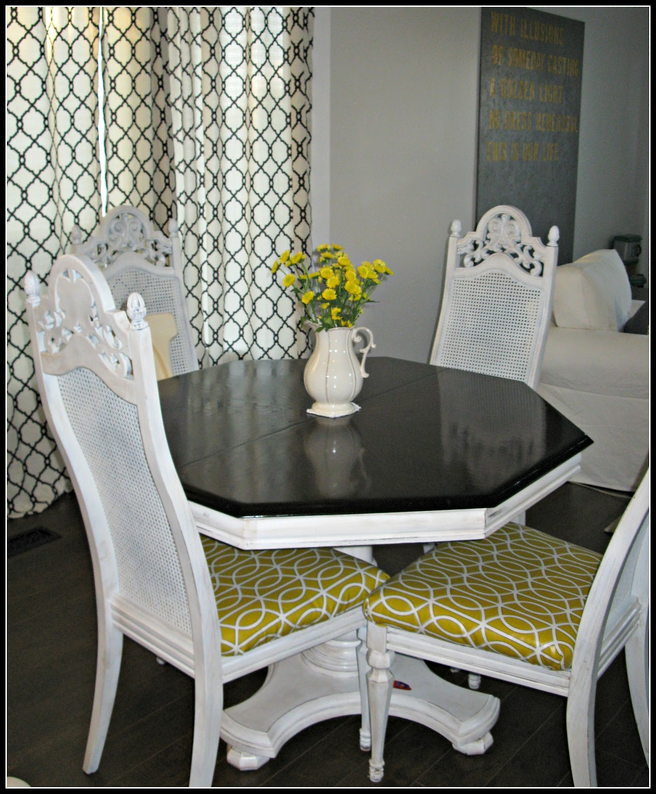 Dining Chair Makeover DIY