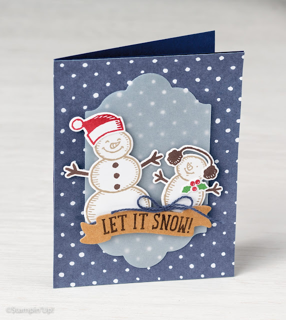 Snow Place stamp set, Stampin' Up!