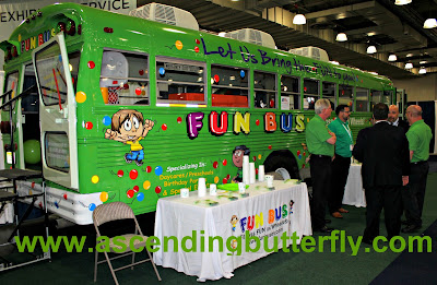 The Fun Bus, Fitness Fun on Wheels for children, International Franchise Expo
