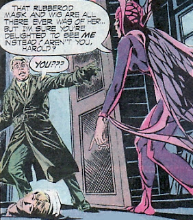 Black Orchid, rubberoid mask, Phantom Stranger #36