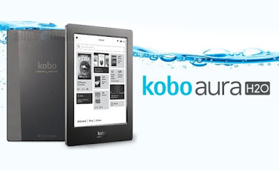 Ebook kobo aura H2O
