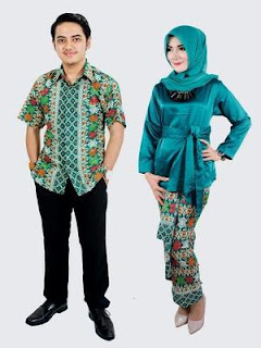 contoh baju batik sarimbit