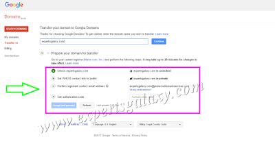 Unlock Domain Name Transfer