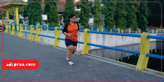 Jogging di Embung Tambakboyo | adipraa.com
