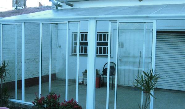 Acristalamiento de terrazas y porches aluminio tarragona for Acristalamiento de porches