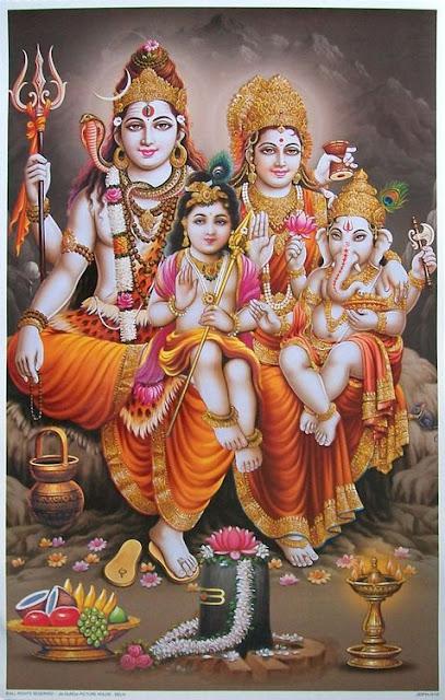 Gods Own Web: Lord Shiva Family Images | Lord Shiva Family ...