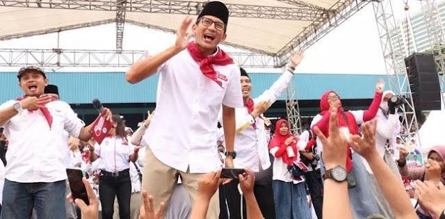 Sandiaga Uno: Terang Aja Lah, Wong Partainya Mendukung Sana