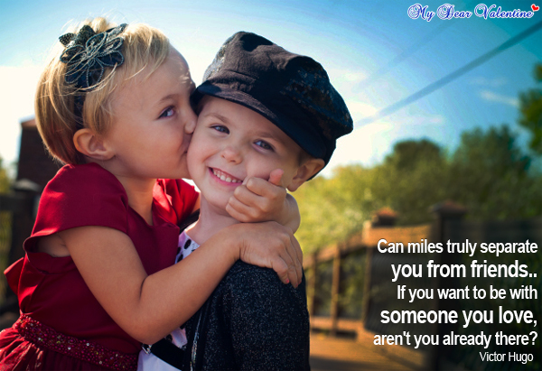 Friendship Romantic love quotes