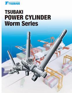 tsubaki power cylinder worm
