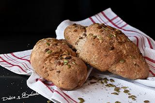 Pan de Centeno con Semillas de Chía y de Calabaza