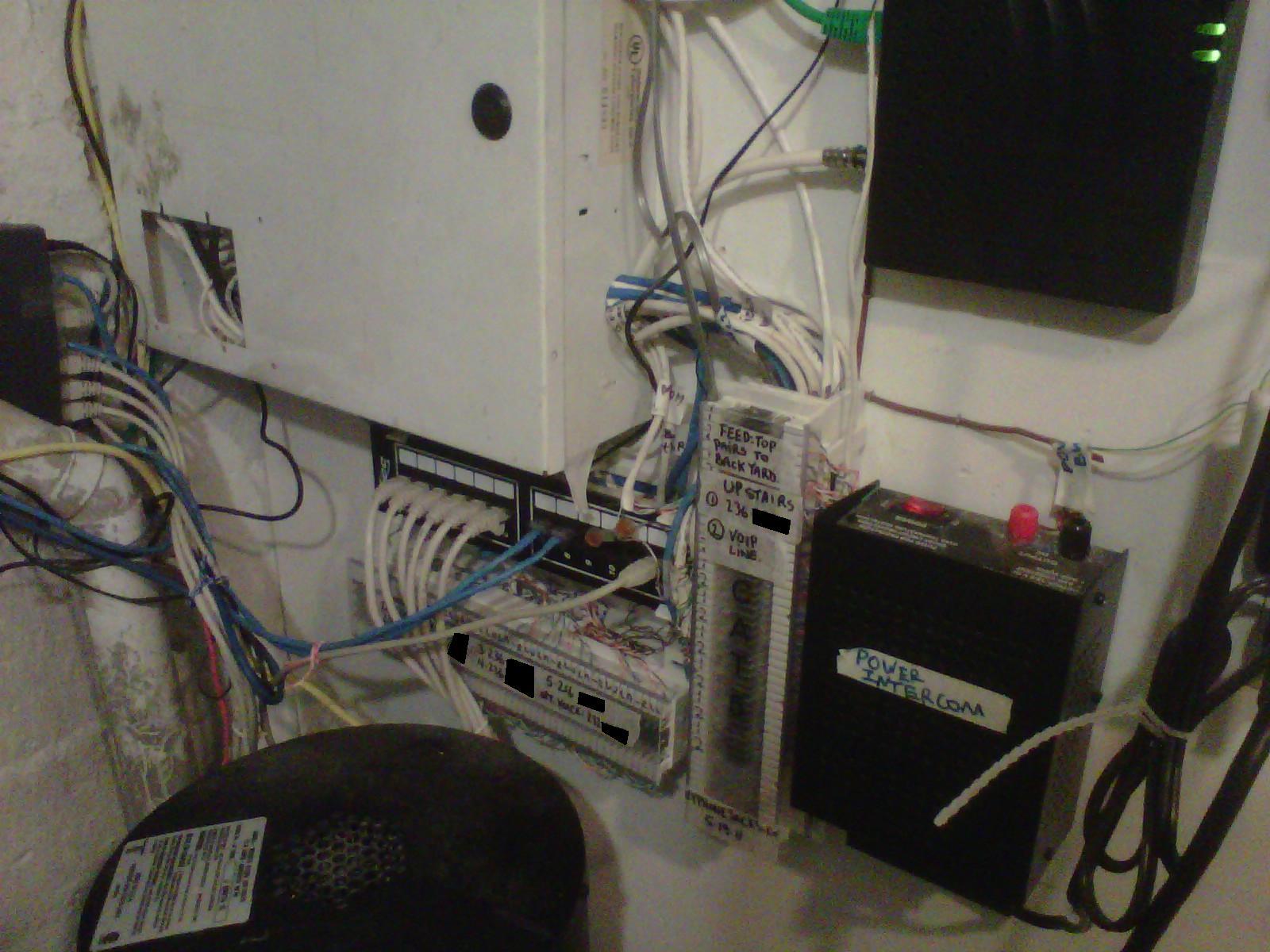 nyphonejacks: small office telephone closet wiring clean up. telephone closet wiring diagram bt telephone box wiring diagram #6