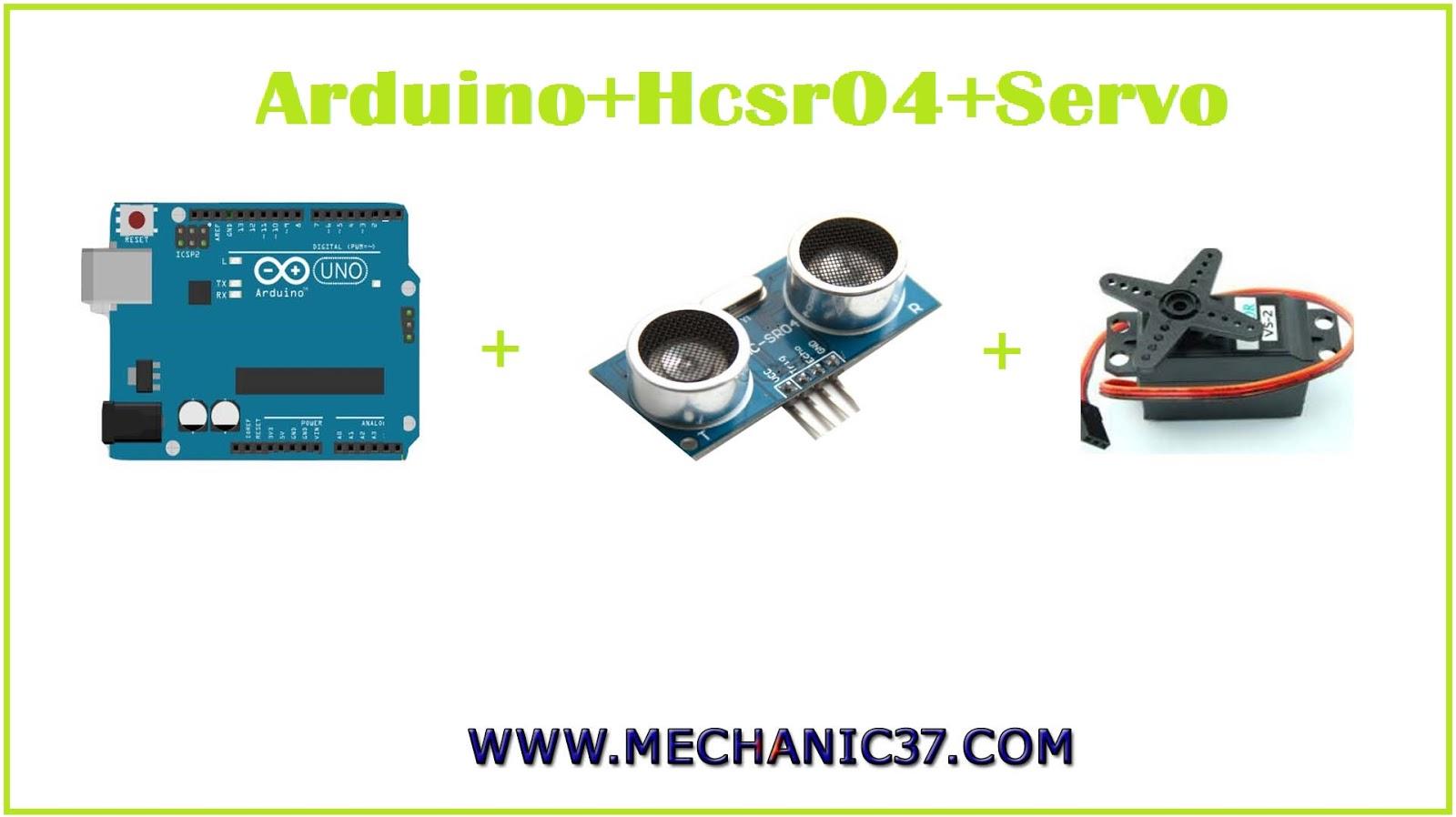 Ultrasonic Sensor Hc Sr04 Projects