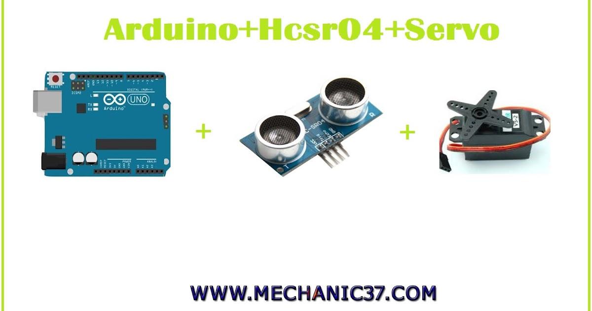 Arduino uno hc sr04 servo motor programming control for How to program servo motor