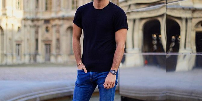 Tips Memilih Kaos Sesuai dengan Postur Tubuh
