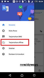 Cara Menggunakan Google Translate Secara Offline