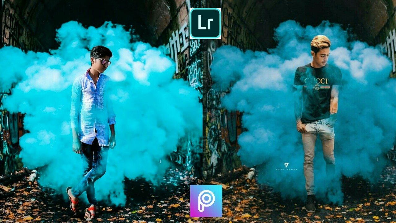 Smoke Effect PicsArt Editing Tutorial || Download Background For