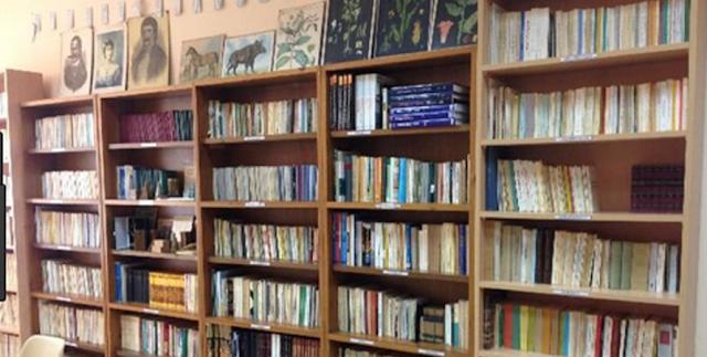 Image result for Βιβλιοθήκη Σκύδρας