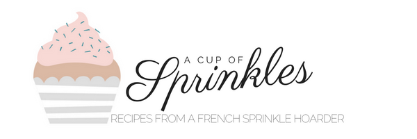A Cup of Sprinkles | Recipes from a French sprinkle hoarder