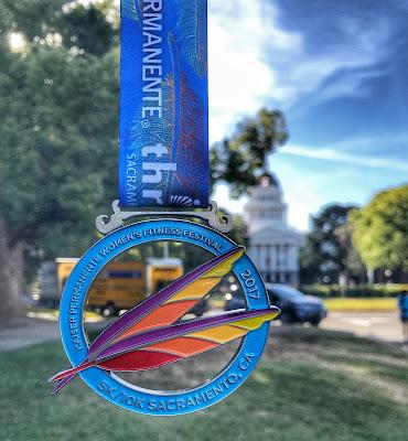 Kaiser Permanente Women's Fitness Festival 5K medal