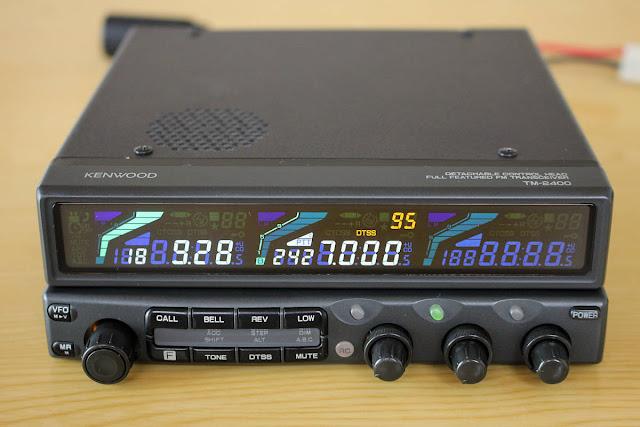 Kenwood TM-2400 Mobile Radio