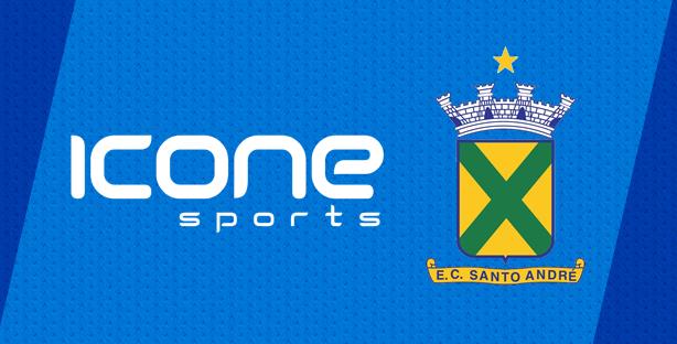Ícone Sports é a nova fornecedora esportiva do Santo André - Show de ... 5e081f8aa0d5a