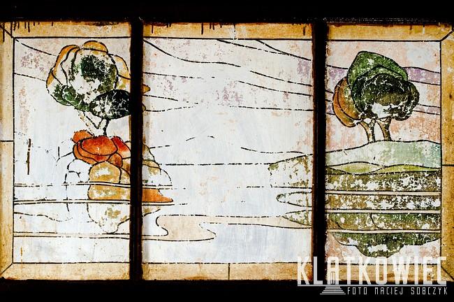 Słupsk: malowane szkło