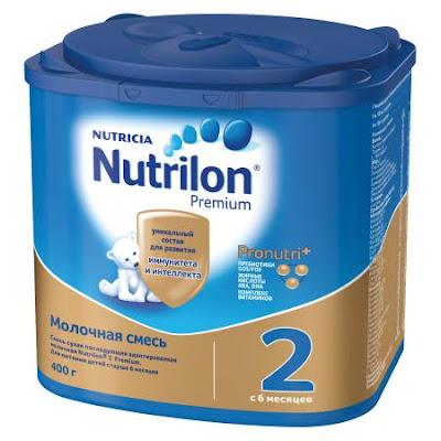 Sữa Nutrilon Premium 2 hộp 400g từ 6 tháng tuổi
