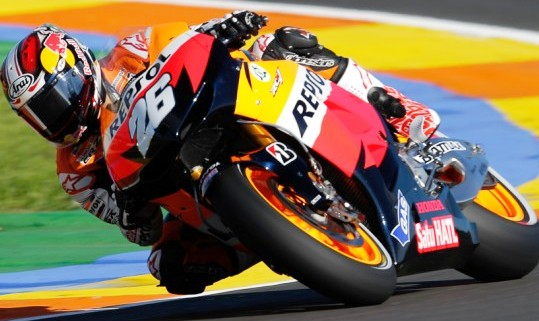 Hasil Kualifikasi MotoGP Valencia 2012 Lengkap