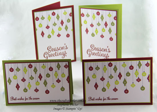www.thecraftythinker, Memories & More Merry Little Christmas, Sneak Peek, Xmas card, Stampin' Up Australia Demonstrator, Stephanie Fischer, Sydney NSW