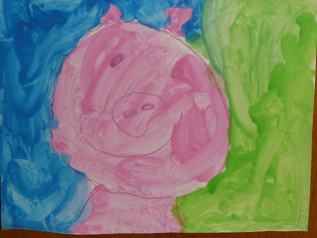 Kindergarten Zeichnungsunterricht