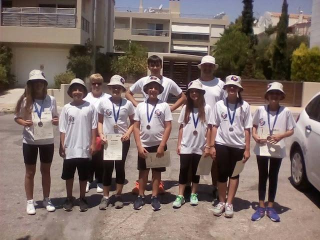 5 μετάλλια για τον Αθλητικό Σύλλογο Αργολίδας ΦΟΙΝΙΞ στον Παννελλήνιο αγώνα τοξοβολίας στα Βριλήσσια