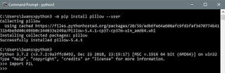 install library pyhton 3.7 for windows 10 sutandione