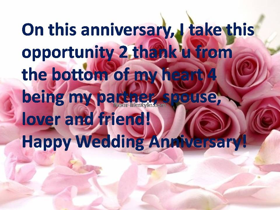 Anniversary messages anniversary wishes & sms noor lifestyle
