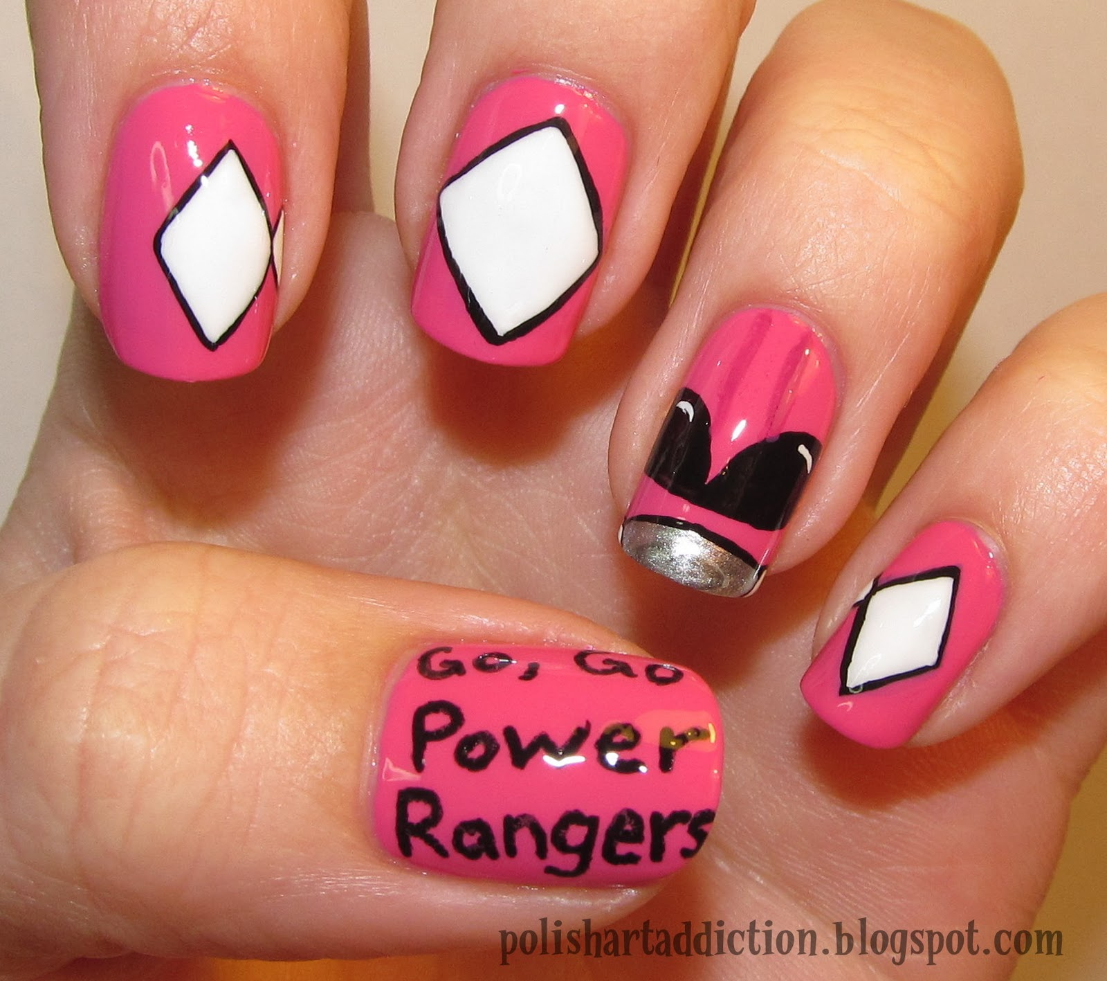Blogger Challenge - Day 5 - Power Rangers