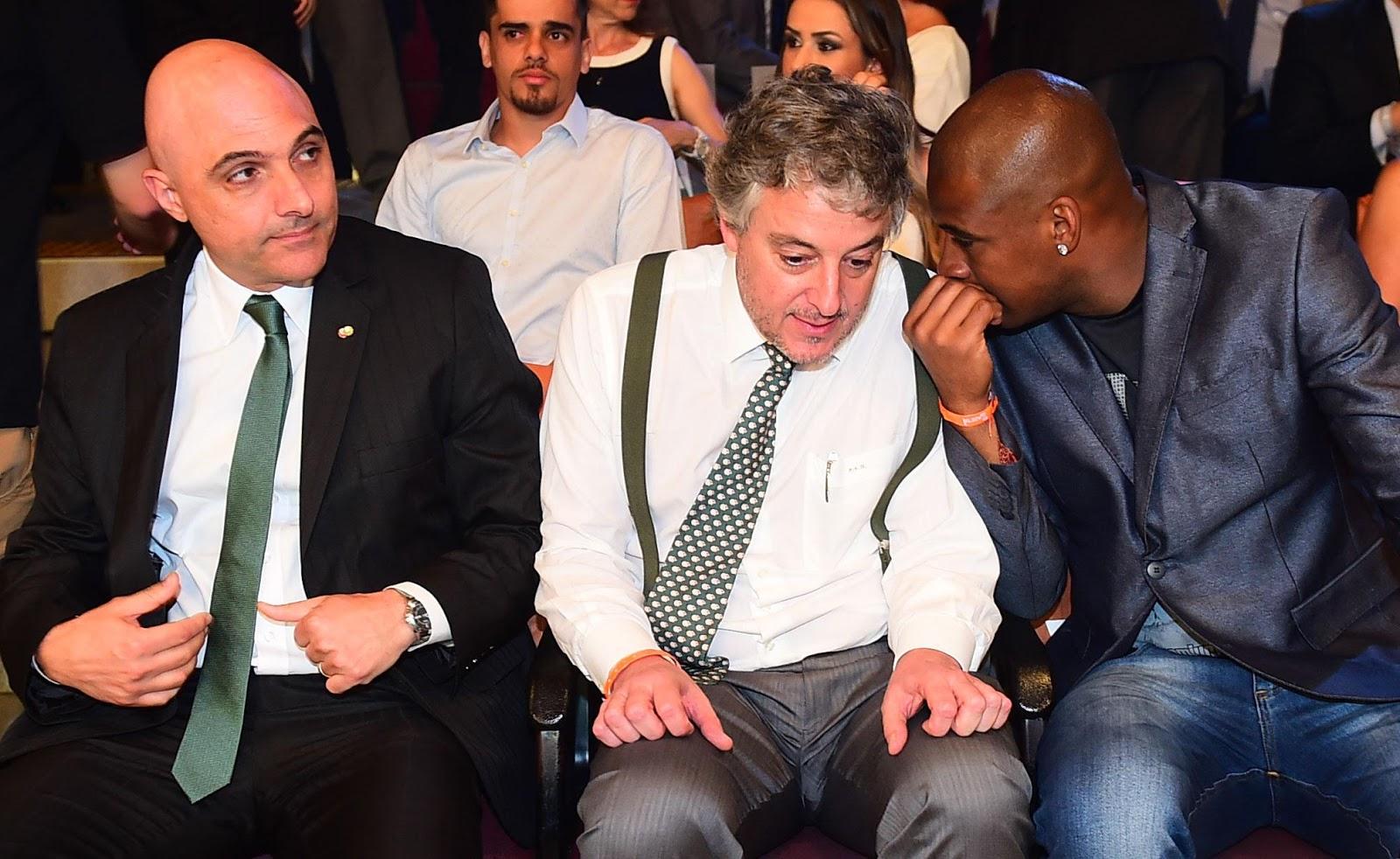 Maurício Galiotte foi eleito presidente com apoio do antecessor Paulo Nobre (Foto: Sergio Barzaghi/Gazeta Press)