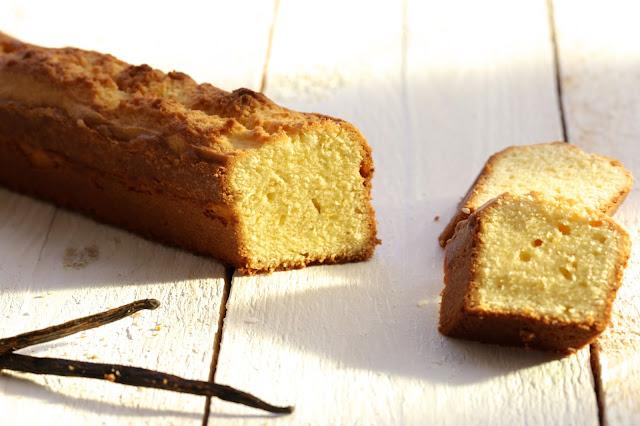 cake , vanille , Christophe Michalak , gâteau de voyage
